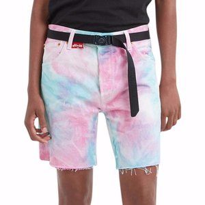 Levi's 501 '93 Pride Faded Tie Dye Denim Shorts